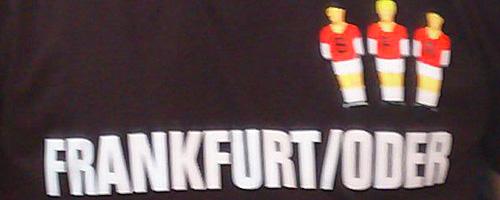 T-Shirt Aufdruck: Die Ärzte in Frankfurt (Oder)