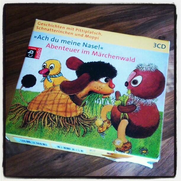 """CD-Box """"Pittipltsch und Schnatterinchen"""""""
