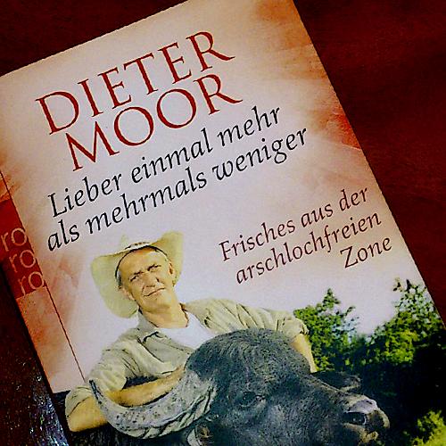 Titelbild des Buchs von Dieter Moor