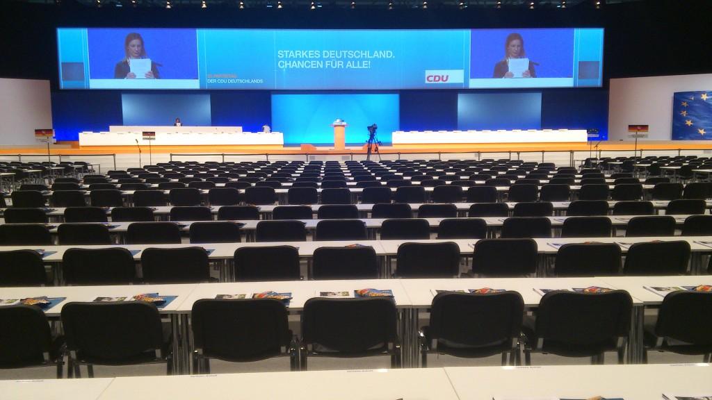 Plenum des 25. Parteitag in Hannover