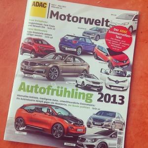 """Cover der """"ADAC Motorwelt"""" 3/2013"""