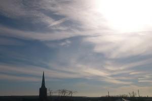 Sonnenschein über dem Odertal