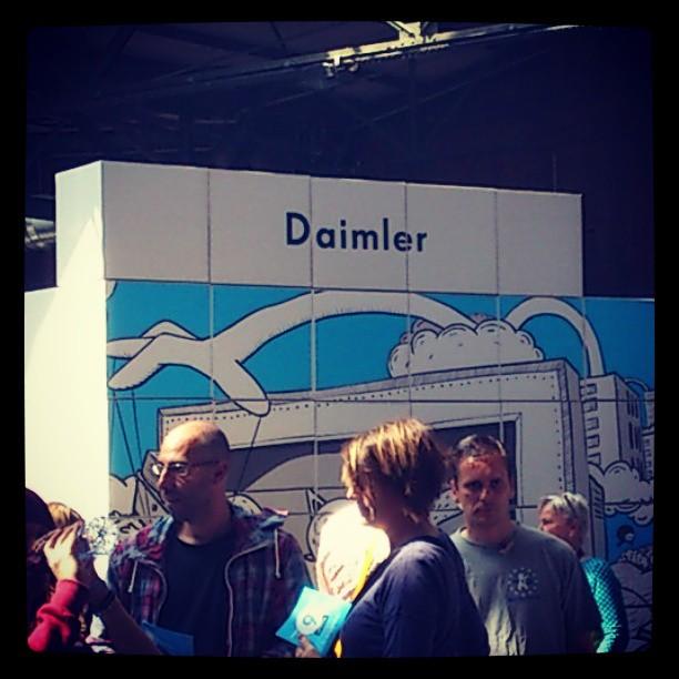 Daimler auf der re:publica 13