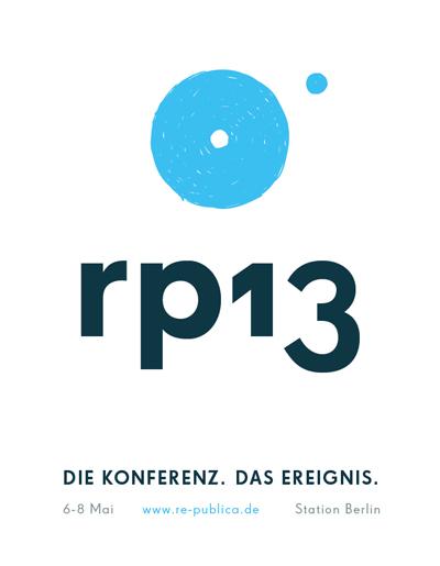 """Logo der """"re:publica 13"""""""