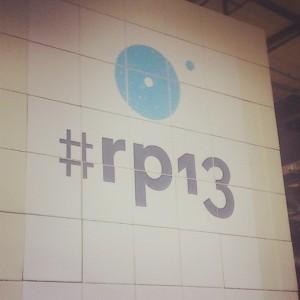 #rp13-Logo auf der Wand