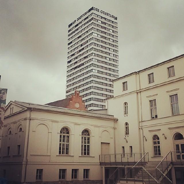 Logenhaus und Oderturm