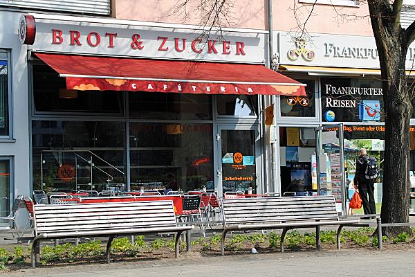 """Cafeteria """"Brot & Zucker"""" in Frankfurt (Oder)"""