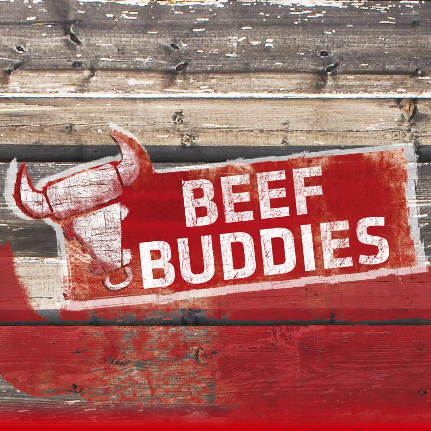"Logo ""Beef Buddies"""