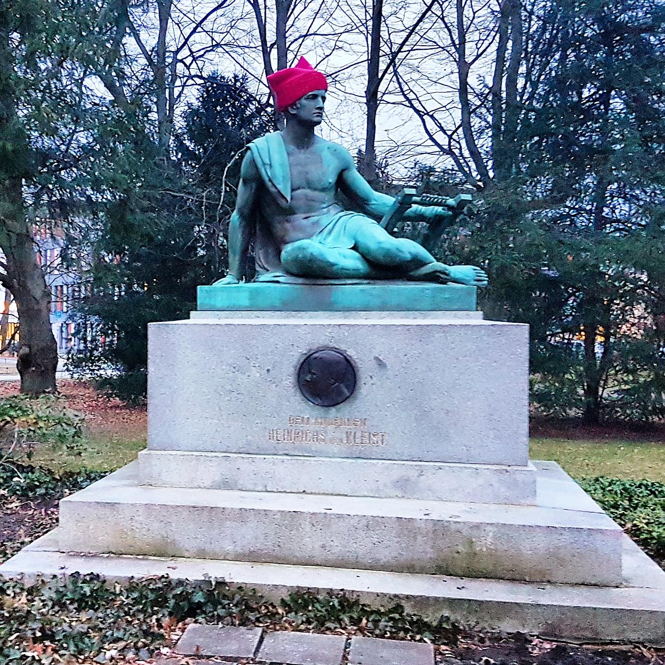 Kleist-Denkmal in Frankfurt (Oder)